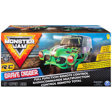 100 Juegos De Monster Truck Spin Master Jam Jam Official Grave Digger Remote