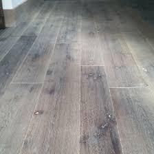 Random Width White Oak Live Sawn With Wire Brush Scraped Edges