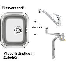 ikea küchenspüle waschbecken einbauspüle spüle einhand mischbatterie zub sifon siphon spülbecken fyndig neu ovp