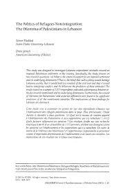 PDF The Politics Of Refugees Non