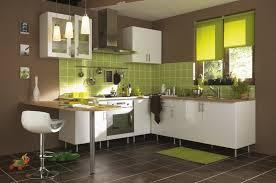 cuisine marron et blanc une cuisine d inspiration aux couleurs marron blanc et vert