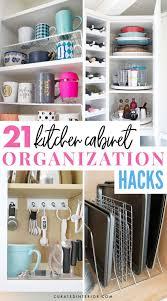 21 White Kitchen Cabinets Ideas 21 Brilliant Kitchen Cabinet Organization Ideas