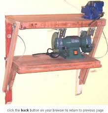 wall mounted work bench