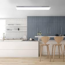 led panel weiß 120x30cm flach platzsparend rechteckig deckenleuchte