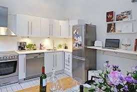 Kitchen Decorating Ideas For Apartments Small Apartment Design Model