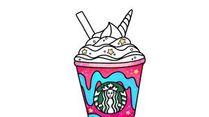 How To Draw A Starbucks Unicorn