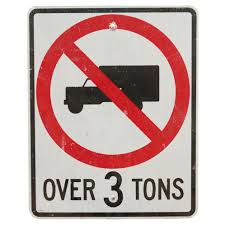 NO TRUCKS OVER 3 TONS SIGN | Air Designs This Sign Says Both Dead End And No Thru Trucks Mildlyteresting Fork Lift Sign First Safety Signs Vintage No Trucks Main Clipart Road Signs No Heavy Trucks Day Ross Tagg Design Allowed In Neighborhood Rules Regulations Photo For Allowed Meashots Entry For Heavy Vehicles Prohibitory By Salagraphics Belgian Regulatory Road Stock Illustration Getty Images
