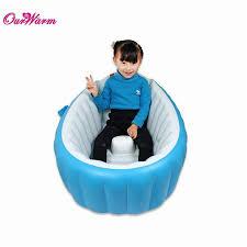 baby inflatable tub kids infant newborn portable dual purpose air