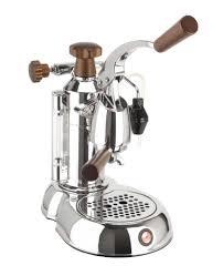 Amazon La Pavoni PSW 16 Stradavari Cup Espresso Machine Chrome With Wood Handles Milk Frother Kitchen Dining