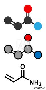 Acrylamide Molecule Polyacrylamide Building Block