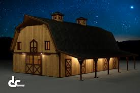 Shed Row Barns Plans by Gambrel Barn Builders Dc Builders