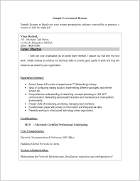6 Federal Job Resume Examples Government Resumes