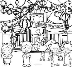 Chinese New Year Colouring Pages Awesome Coloring