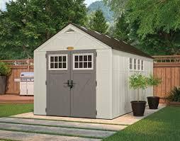 tremont 8x16 shed kit suncast storage shed resin kit