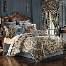 j queen new york cassandra comforter set in blue bed bath beyond