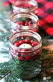 Christmas Table Setting And Centerpiece Ideas Mason Jar Luminaries
