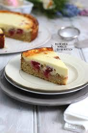 rhabarber himbeer quark kuchen