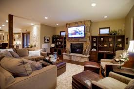 Living Room Decorating Ideas Black Leather Sofa by Tv Room Decorating Ideas White Leather Cushion Red White Gray Wall