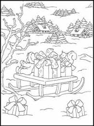 Coloring Pages For Those Cold Winter Days Spent Inside With Hot