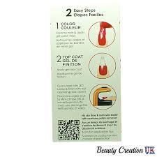 hansen gel manicure starter kit with led mini l