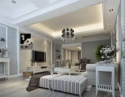 Awesome Classic Modern Interior Design With White Living Room