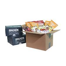 Healthy Office Snacks Delivered by Medium Office Box 50 Snacks Snacknation Market