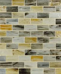 lunada bay tile tozen glass 1 x 2 brick color palette