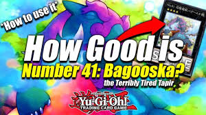 Best Exodius The Ultimate Forbidden Lord Deck by Yu Gi Oh How Broken Is Number 41 Bagooska The Terribly Tired