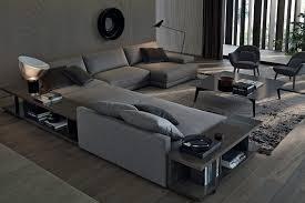 canapes haut de gamme le bristol de poliform le canapé des espaces intemporels