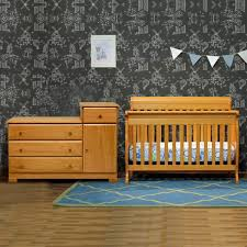 davinci 2 piece nursery set kalani 4 in 1 convertible crib and