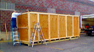 Large Heavy Duty Industrial Shipping Crate