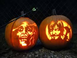 Walking Dead Halloween Stencils by Pumpkin Carving Patterns And Stencils Zombie Pumpkins Galleries