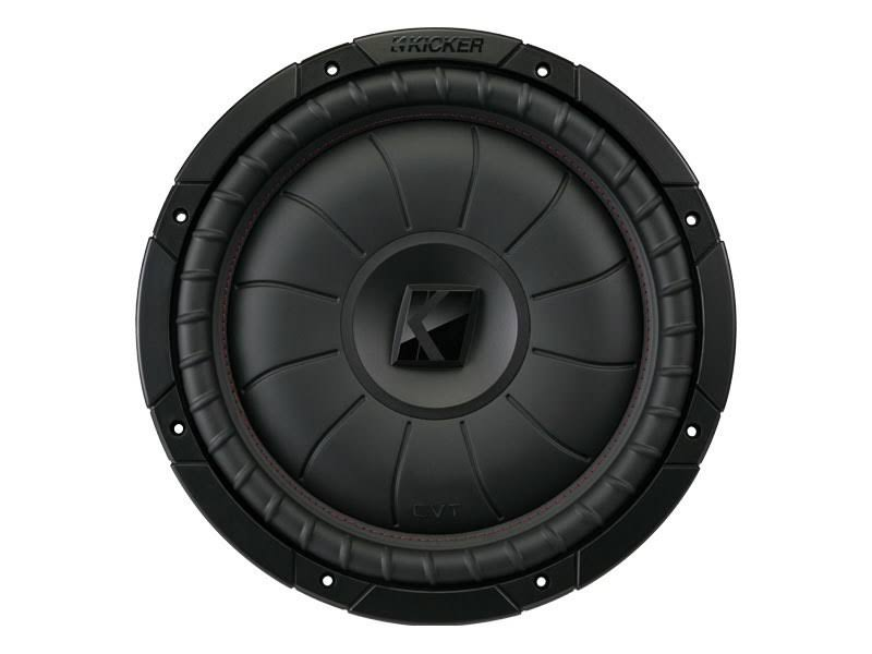"Kicker CompVT Series Single Car Subwoofer - 400W, 12"", 4 Ohm"