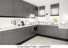 cuisines grises cuisine moderne gris et blanc maison moderne cuisine meubles rangement