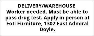 100 Foti Furniture Delivery Warehouse