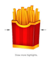 How to Make a Delicious French Fries Icon in shop