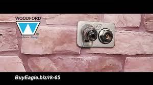 Woodford Faucet Handle Replacement by Woodford Model 65 67 Commercial Wall Hydrant Repair Video Youtube
