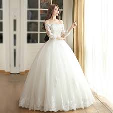 Luxury f Shoulder Lace Wedding Dresses 2017 Puffy Ball Gowns Tulle