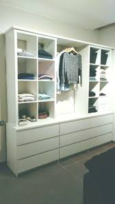 open cupboard with kallax and malm diy ideas diy ideas