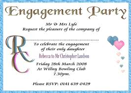 Free Engagement Party Invitations Templates Amazing