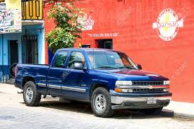 OAXACA, MEXICO - MAY 25, 2017: Pickup Truck Chevrolet Cheyenne ...