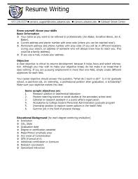 Management Resumes Samples Resume Example Server Objective Examples Good For Writing Sample It Director