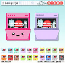 Cute Dishwasher Cliparts 2814358 License Personal Use