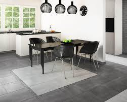 eleganter minimalismus im küche esszimmer bereich