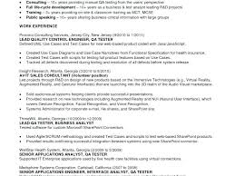 Software Testing Sample Resume Plain Decoration Manual Tester Format Luxury