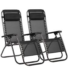 Set Of 2 Zero Gravity Outdoor Patio Chairs - Black Patio Fniture Accsories Zero Gravity Outdoor Folding Xtremepowerus Adjustable Recling Chair Pool Lounge Chairs W Cup Holder Set Of Pair Navy The 6 Best Levu Orbital Chairgray Recliner 4ever Heavy Duty Beach Wcanopy Sunshade Accessory Caravan Sports Infinity Grey X Details About 2 Yard Gray Top 10 Reviews Find Yours 20