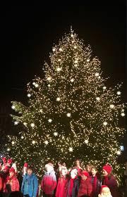 Rockefeller Christmas Tree Lighting 2017 by Move Over Rockefeller Center Brooklyn U0027s Tallest Christmas Tree