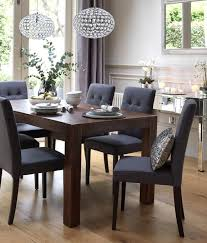 The 25 Best Upholstered Dining Room Chairs Ideas On Pinterest Incredible Grey Fabric