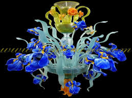 flowers and fruits murano glass chandeliers venice arte murano