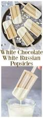 Pumpkin Spice Kahlua White Russian by White Chocolate White Russian Popsicles No Spoon Necessary